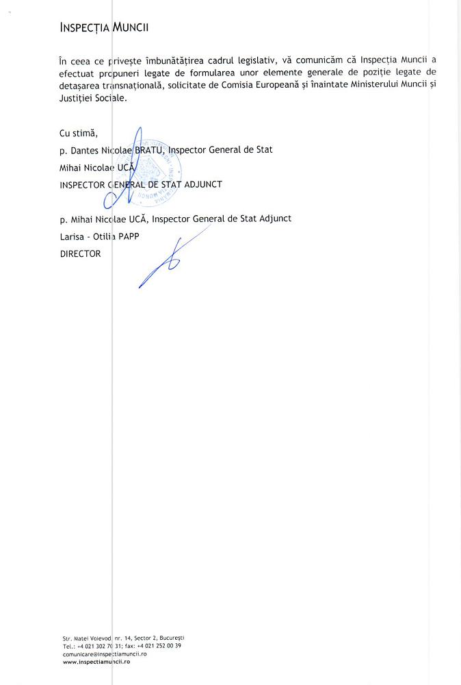 Inspectia muncii answer - Page 2
